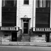Brass Rail entrance