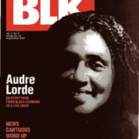 Audre Lorde : The celebrated author on everything from Black Germans to 2 Live Crew