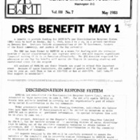 BWMT/DC Newsletter, May 1983