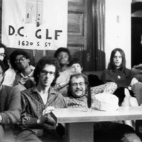 Party at the Gay Liberation Front-DC communal house