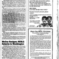 Four articles relating to African American gay men in Washington, D.C.