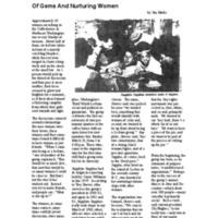 Of gems and nurturing women
